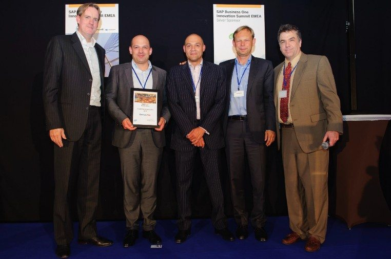 2013 –SAP Business One Global Solution Partner Award w tekście